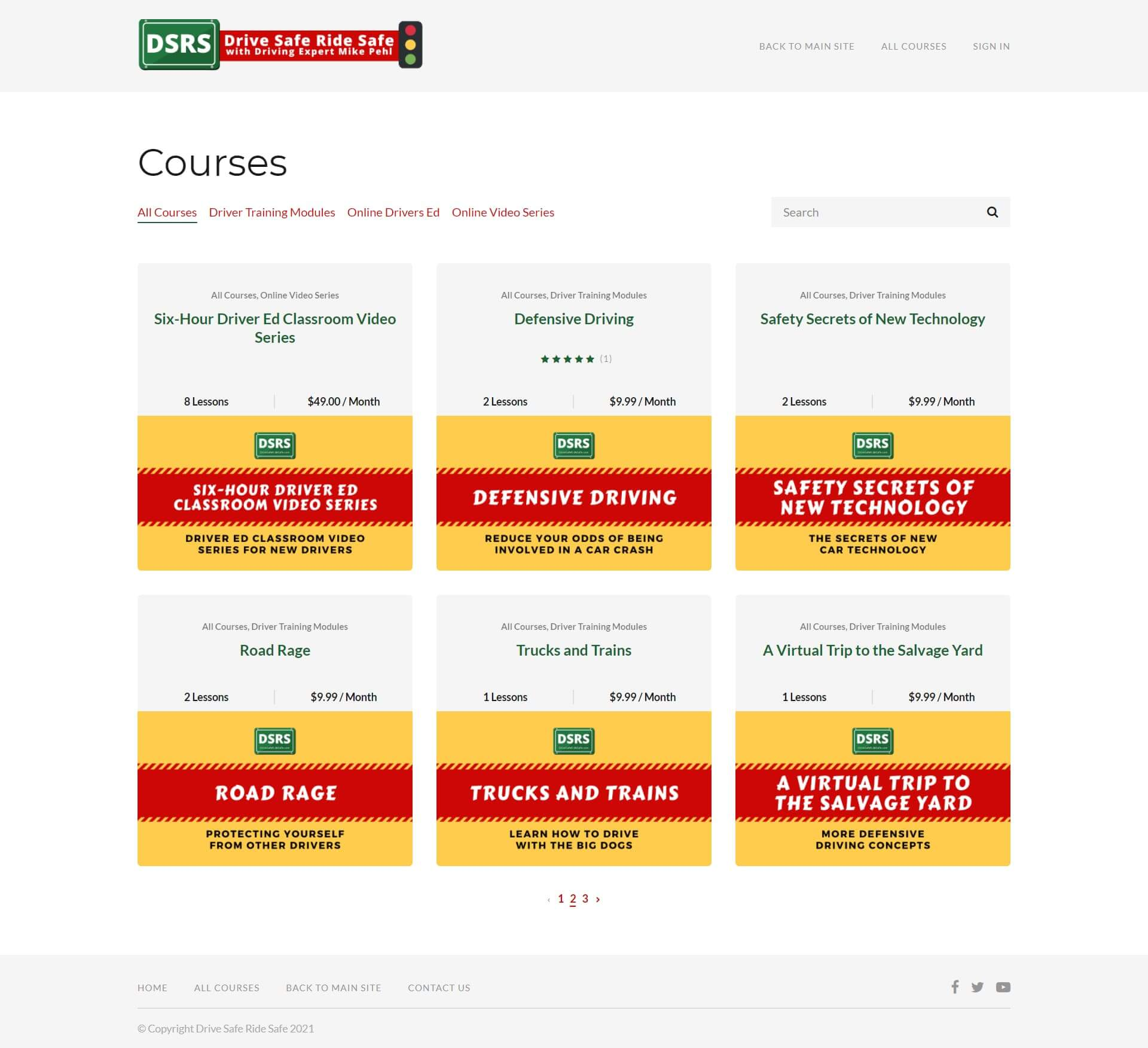 https://courses.drivesaferidesafe.com/collections?page=2