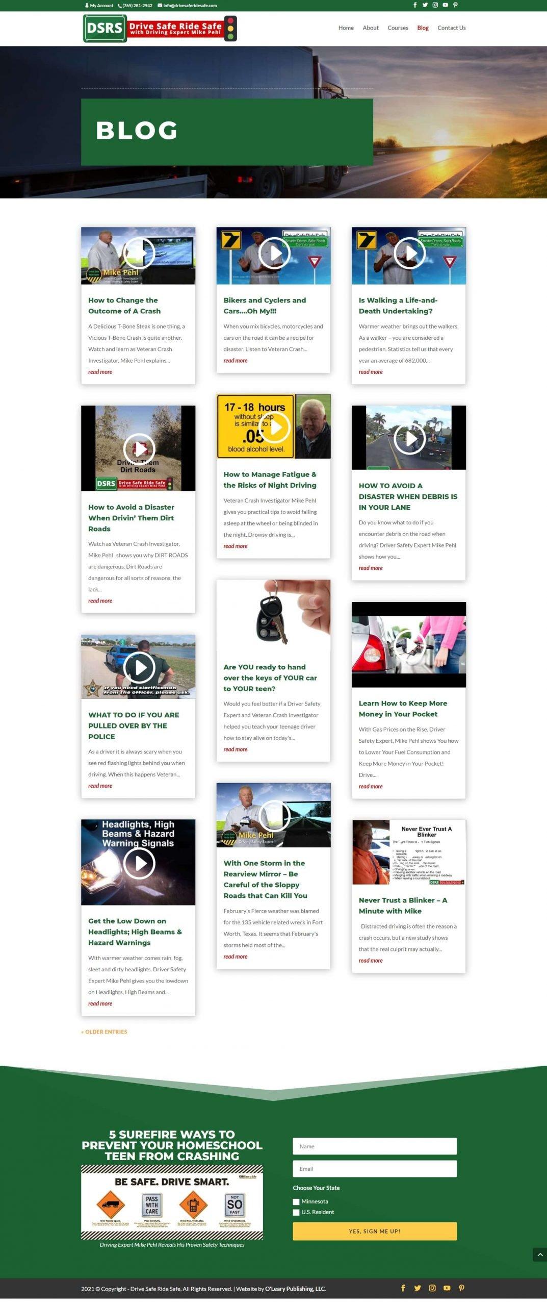 Drive Safe Ride Safe Blog