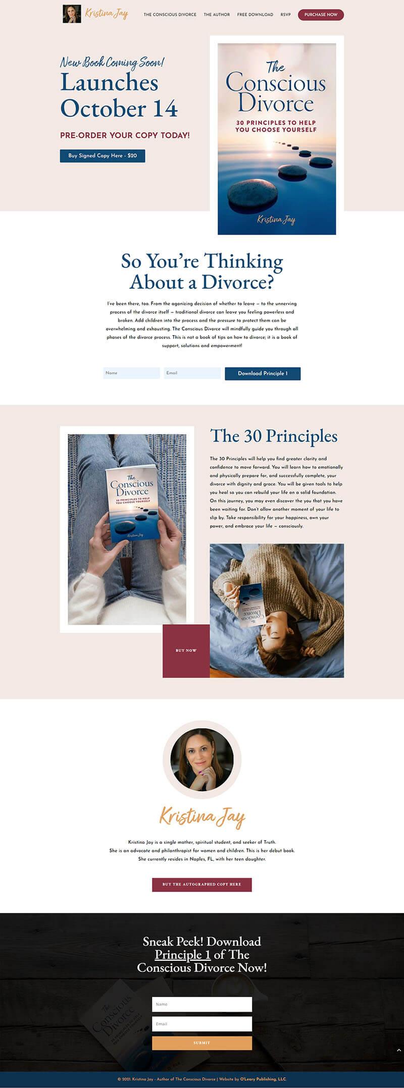 Kristina Jay homepage
